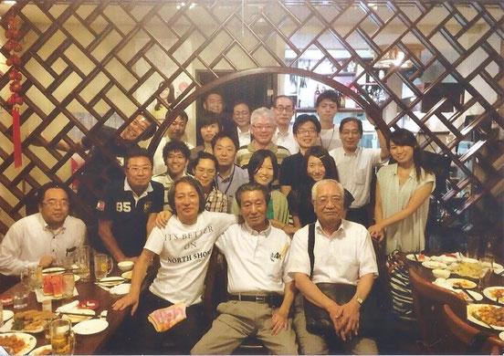 最終日の後の親睦会2015