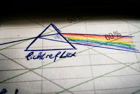 Erster Entwurf LichtrefLEX Fotografie Logo