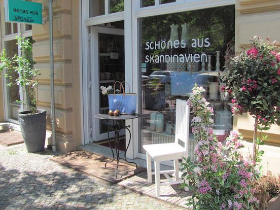 Shop mit schönem aus Skandinavien: Renas hus in Berlin, Außenansicht