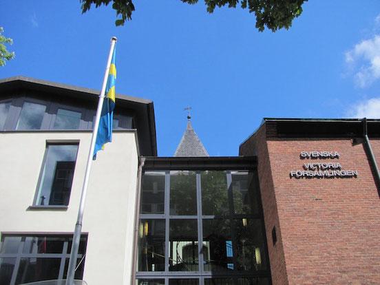 Schwedisches in Berlin: Die Schwedische Kirche - Victoria Församlingen