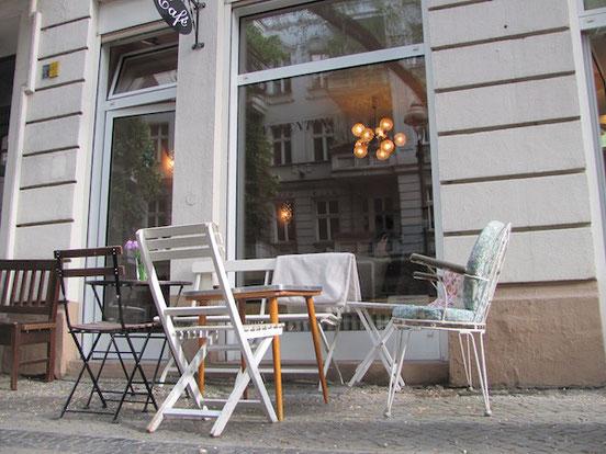 Schwedisches in Berlin: Café Valentin, Außenansicht