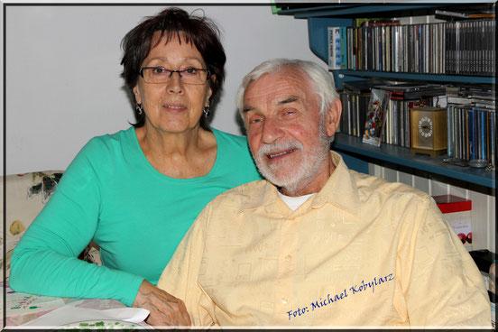 Karl Ebels und seine Frau