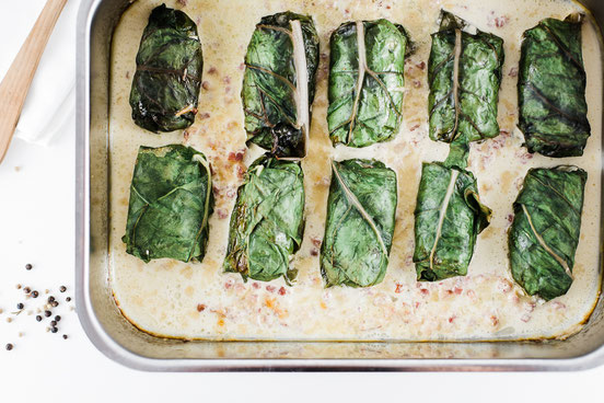 Zucchini an Parmesan.