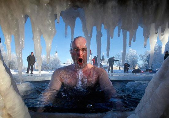 Pasar frío de forma controlada tiene beneficios para la salud