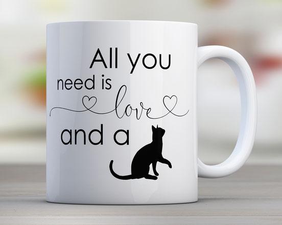 Tassengeschenke für Katzenliebhaber