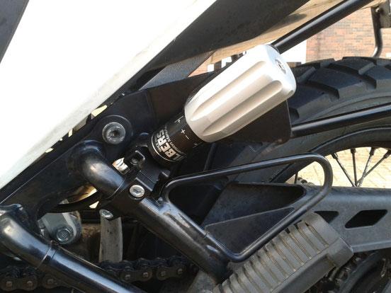 Wilbers hydraulische Federvorspannung XL700V