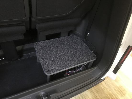 ステップワゴンでもサブバッテリーシステムを搭載できます!
