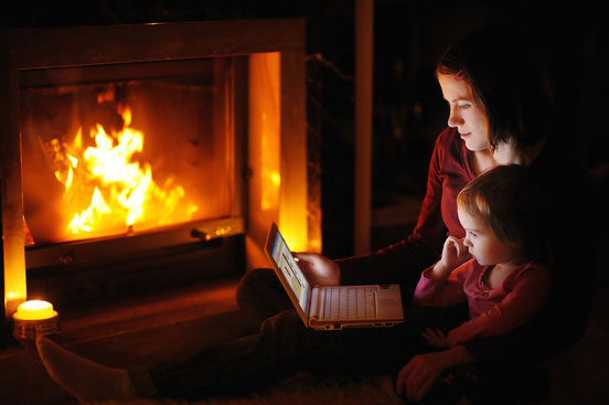 Enjoy the warm comfort of your own fireplace