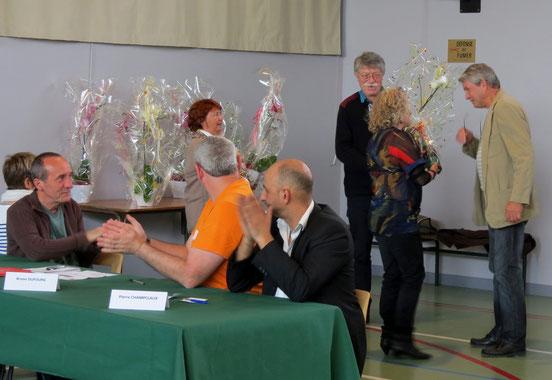 Une attention toute spéciale  a été accordée à Denis Roudil et Didier Lécuyer.