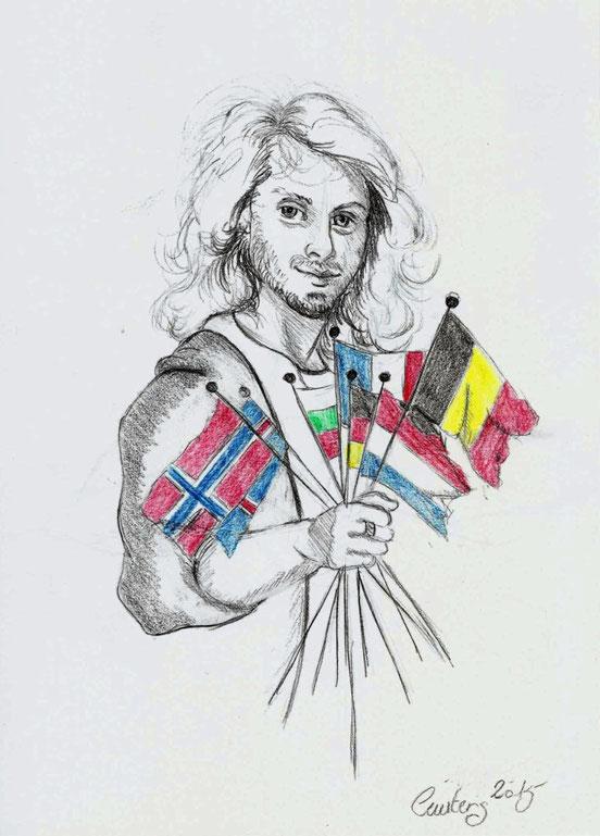 Je Suis Paris Je Suis Europa Je suis Kenzië