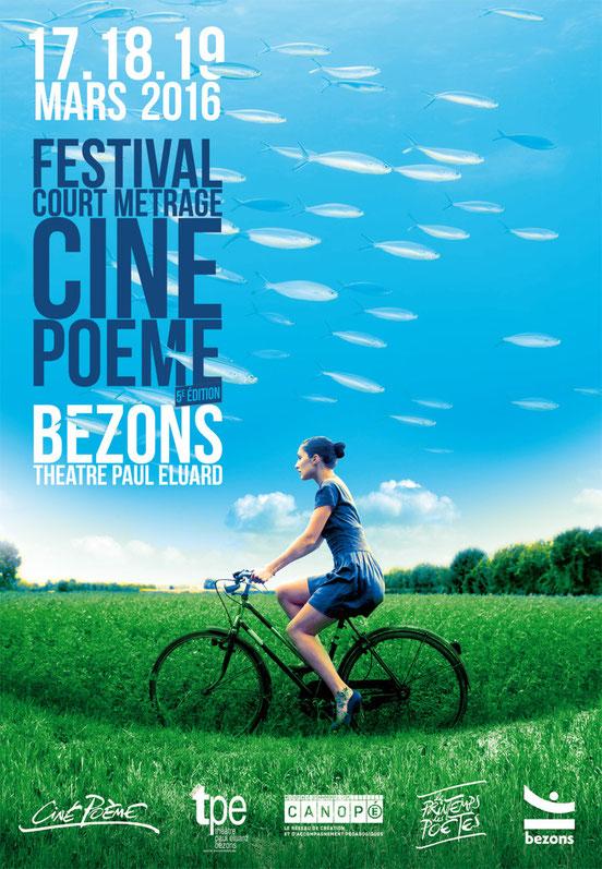 Ciné Poème 2016 - Association des Commerrçants de Bezons