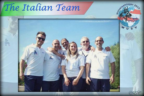 Mannschaft WUSV Universalsieger 2017 mit Giorgia Libardi und Werner Runggaldier