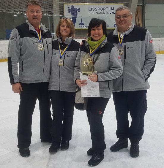 1.Platz - Mixed Landesmeisterschaft Winter 2018/2019
