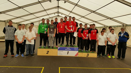 Landesmeisterschaft Jugend U19 - Alle Teilnehmer