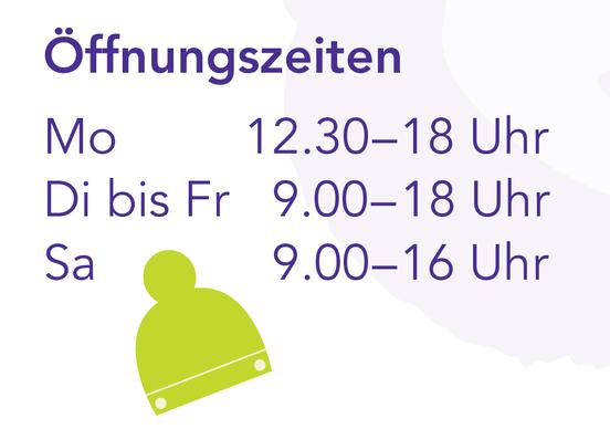 öffnungszeiten opening hours des Zottelbaer