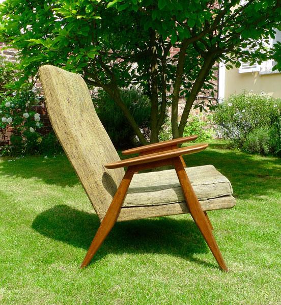 JOLI, fauteuil vintage, Pierre Gariche, modèle SK640, fauteuil Steiner