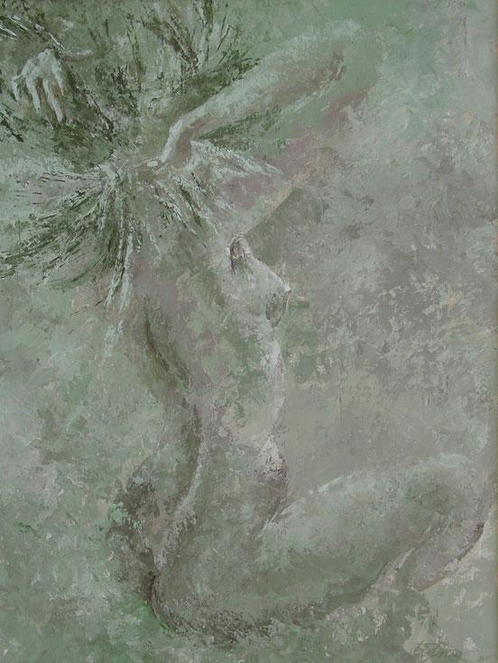 tableaux vaudois, huile sur toile, paysage vaudois, peintre vaudois, peintre, nu, lac Léman, barque, Christophe Jelenkiewicz