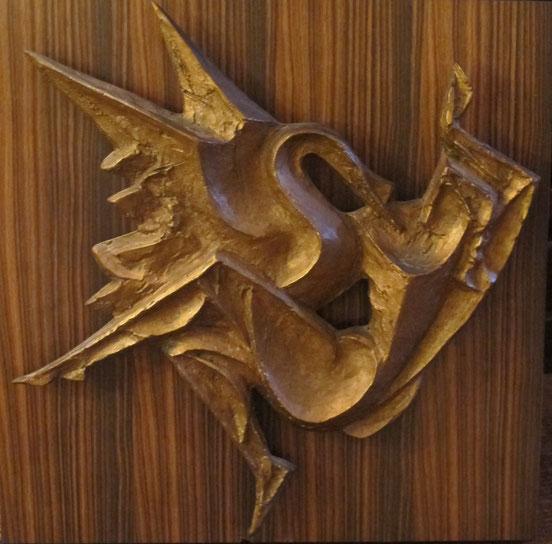 tableaux vaudois, huile sur toile, paysage vaudois, peintre vaudois, peintre, nu, lac Léman, barque, Pierre Blanc, sculpteur, animalier, Lausanne, bronze  Léda
