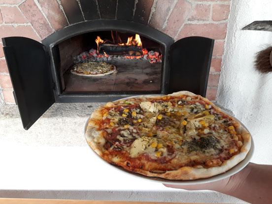 Pizzabackofen, Holzbackofen, Pizzaofen, Pizzabacken, Oberösterreich, Eferding