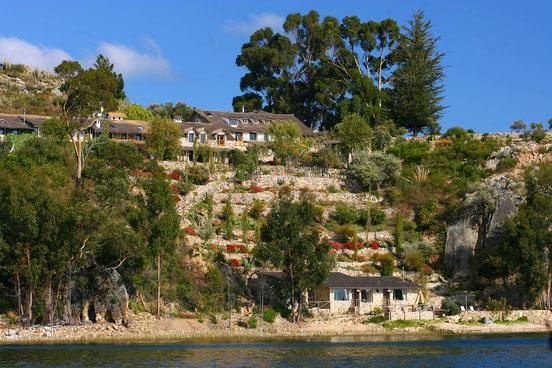 Übernachten auf der Insel Suasi im Titicacasee - Die Profil von PERUline buchen Ihr Wunschhotel