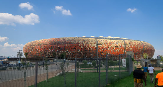 Soccer City (FNB-Stadium), Schauplatz des WM-Finals 2010