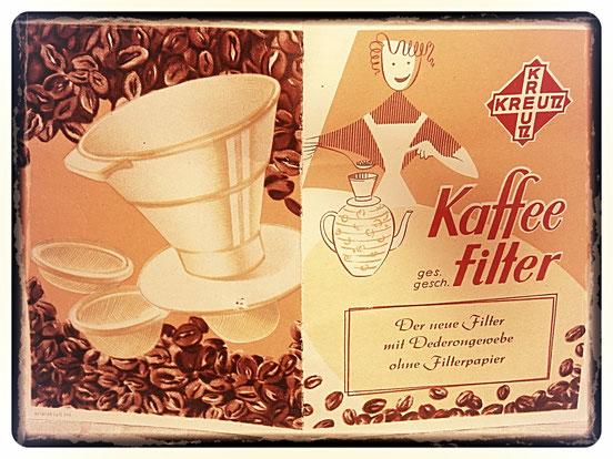 KREUTZ KAFFEEFILTER 1970