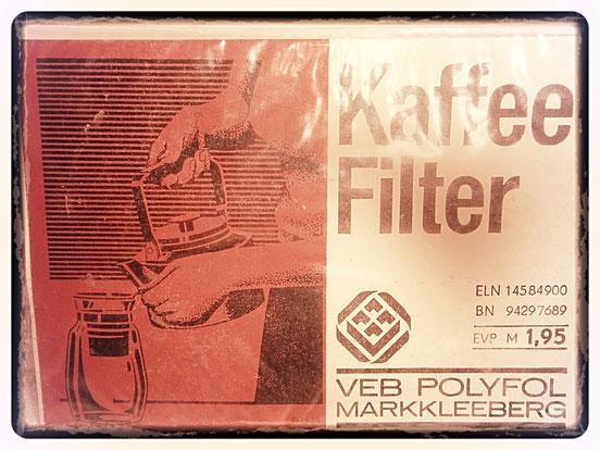 Kaffee Filter 1970