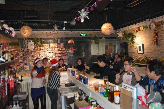 NoCCSがあった時はみんなでプレゼントを持ち合って交換会をしました。(画像は去年のクリスマスパーティー)