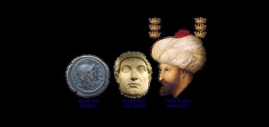 6 Tage Istanbul Stadtführung; Byzanz, Römisches- u. Osmanisches Imperium