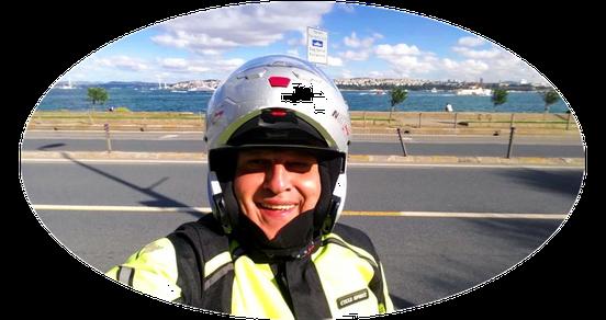Istanbul Stadtrundfahrt für Biker