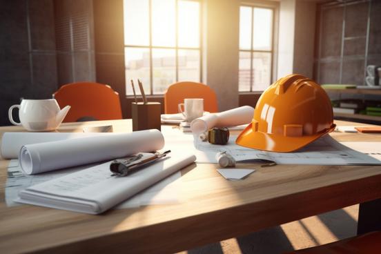 アルミ製のスーツケースが大小2台並んでいる。