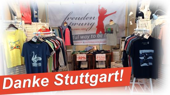 Danke Stuttgart für 4 tolle Tage auf der Fair Handeln - nächstes Jahr sind wir wieder dabei!