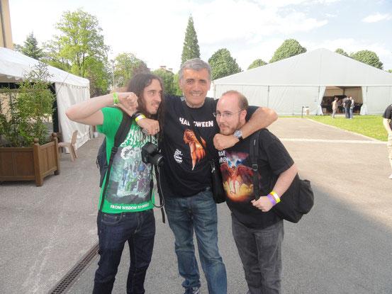 Rigs, Peter et Adrien (manque Jérôme à la pelle)
