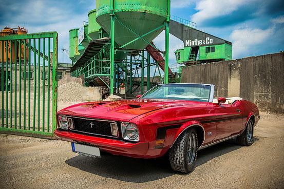 HDR-Fotoshooting für einen Mustang Kalender