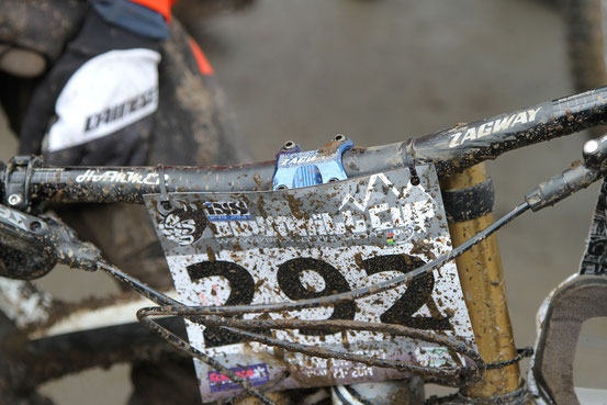 Our ZAGWAY bar and stem in the mud!