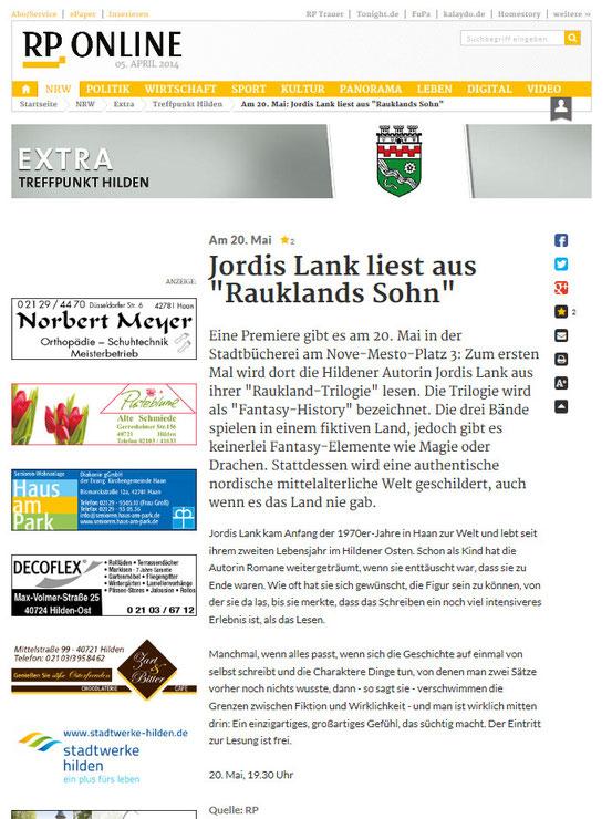 Rheinische Post, 05.04.2014