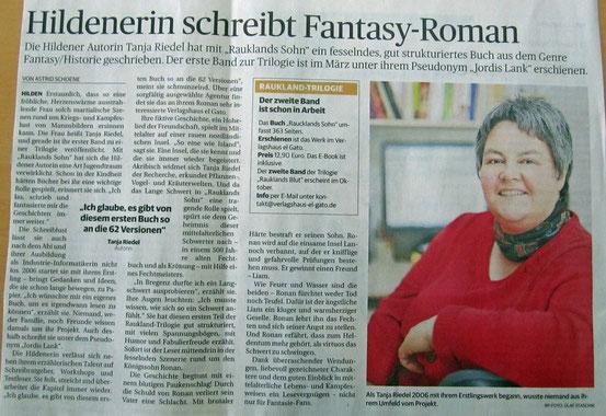Rheinische Post, 7.5.2013
