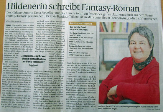 Rheinische Post, 07.05.2013 - Herzlichen Dank für die Genehmigung zur Verwendung