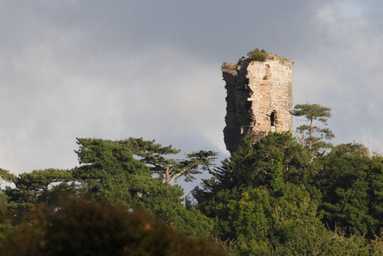Les ruines de la tour de Cesson - Достопримечательности Сен-Бриё