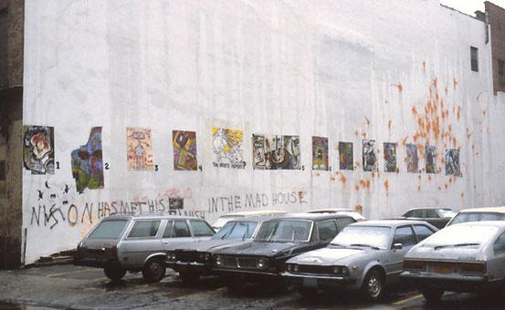 ※4:80年代ニューヨークにおけるAVANTのストリート・アート。