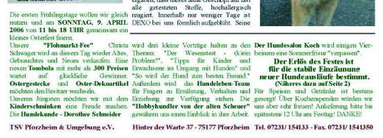 Tierheimzeitung 01/2006