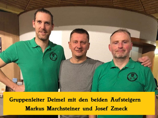 v.l.: Marchsteiner Markus, GL Deimel Leopold, Zmeck Josef