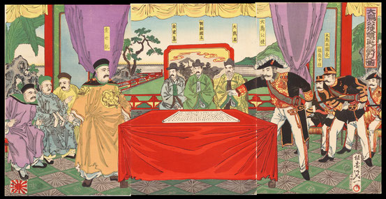 S027 Ohtori Keisuke the ambassador to Korea's Joseon dynasty negotiated at the court
