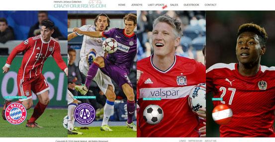 © by Ollikausf http://fcb-trikots.jimdo.com/ FCB FC Bayern München EV Bavaria Munich Trikot Sammlung Collection Matchworn Spielertrikot Spieler Trikots Fanshop Torwart Goalkeeper Champions League