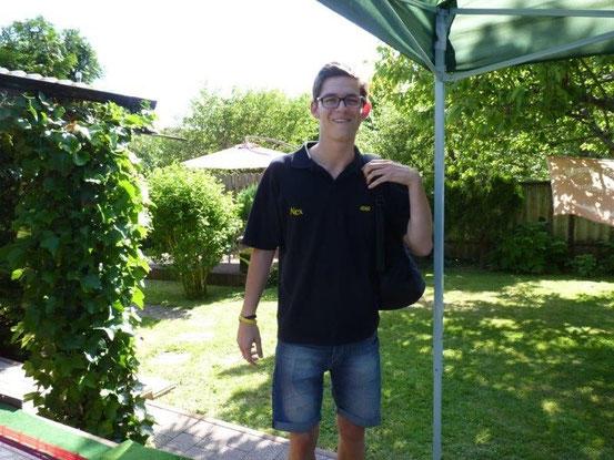 Alex kam wie immer als letzter und top vorbereitet.