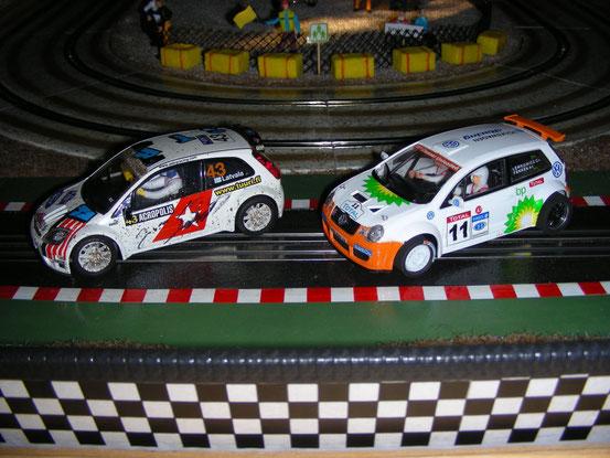 Ford Fiesta und VW Polo