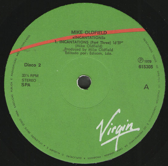 Disco 2 615305A Mike Oldfield 13.10.83