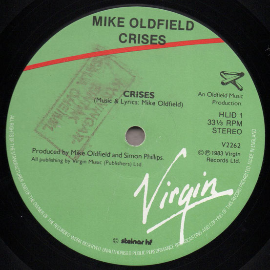 V 2262 AI Mike Oldfield