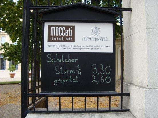 Eingang zur Vinothek im Liechtensteinpark: Fürstengasse 4, 1090 Wien