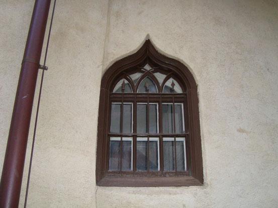 Fenster an der Südseite der Heumühle